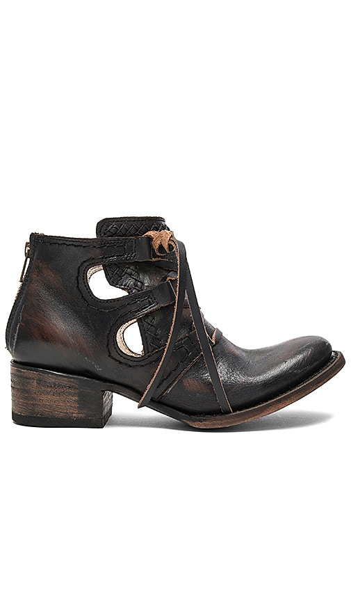 Freebird by Steven Surge Booties in Chocolate Brown