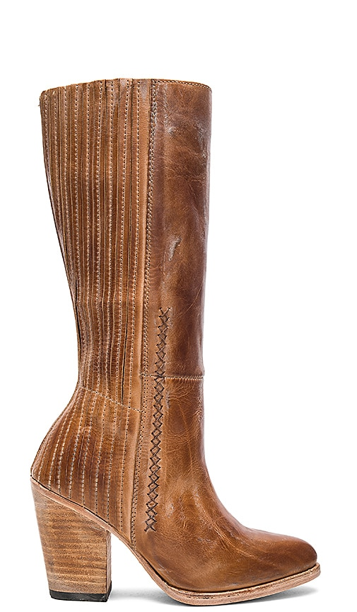 Freebird by Steven Knife Boot in Cognac