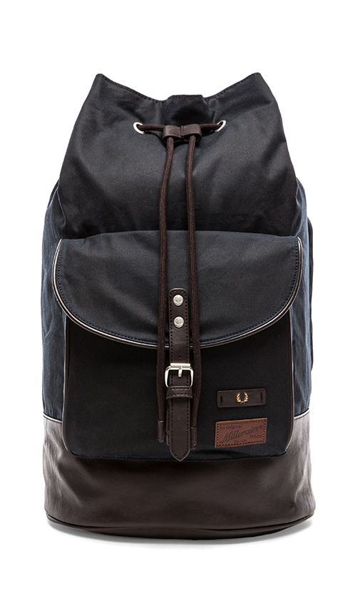 Fred Perry British Millerain Duffle Bag in Navy