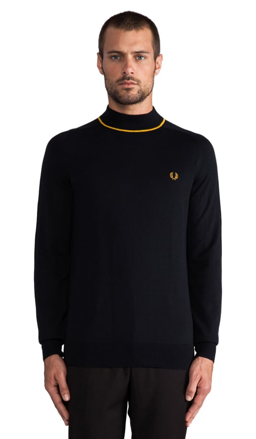 Tipped Turtle Neck