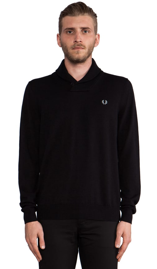 Classic Shawl Neck Sweater