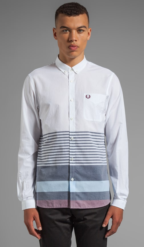 Wide Placement Stripe Shirt