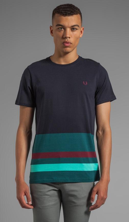 Engineered Hem Stripe Shirt