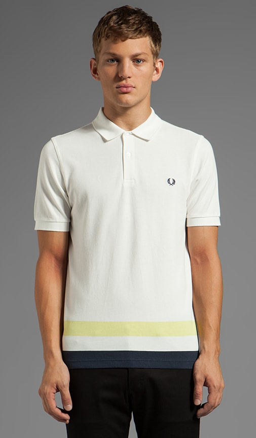 Oversized Classic Tipped Hem Polo