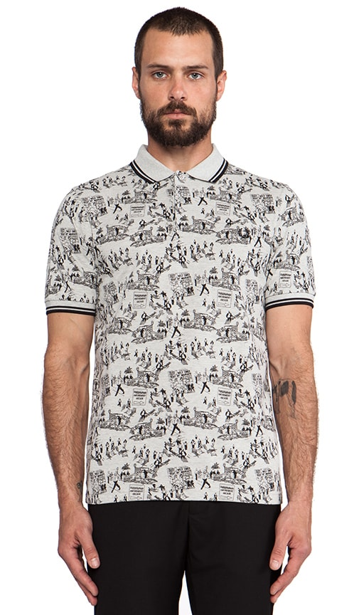 Margate Collection Whitsun Weekend Print Shirt