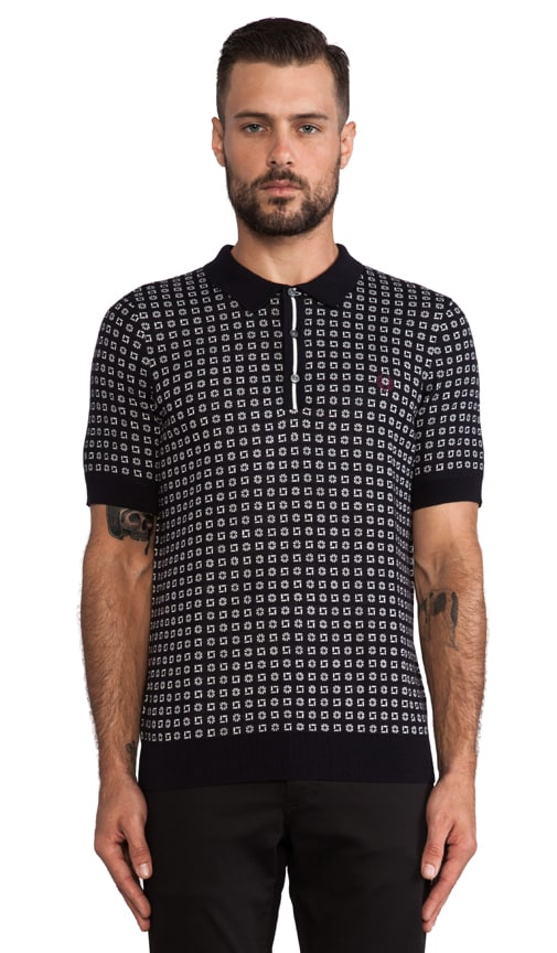 Drake Knitted Tennis Shirt
