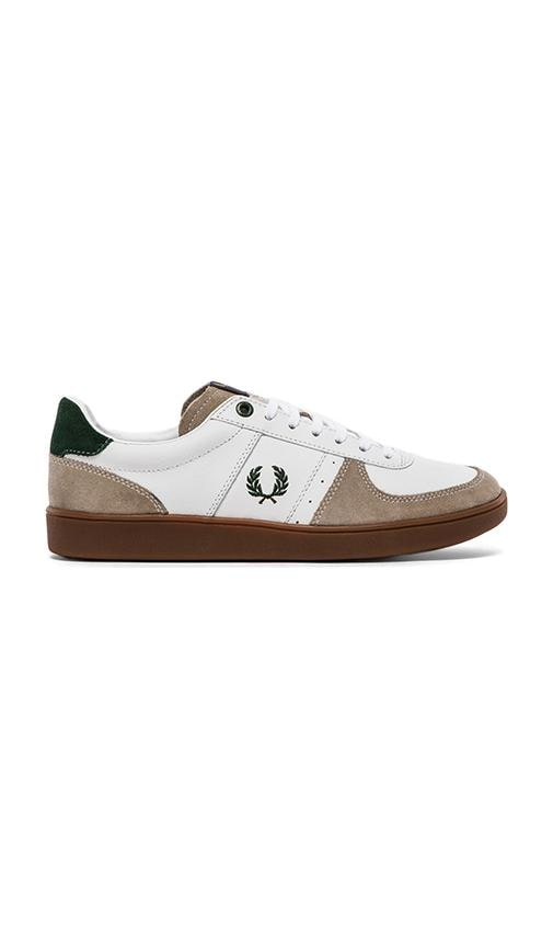 Topspin Leather/ Suede Sneaker