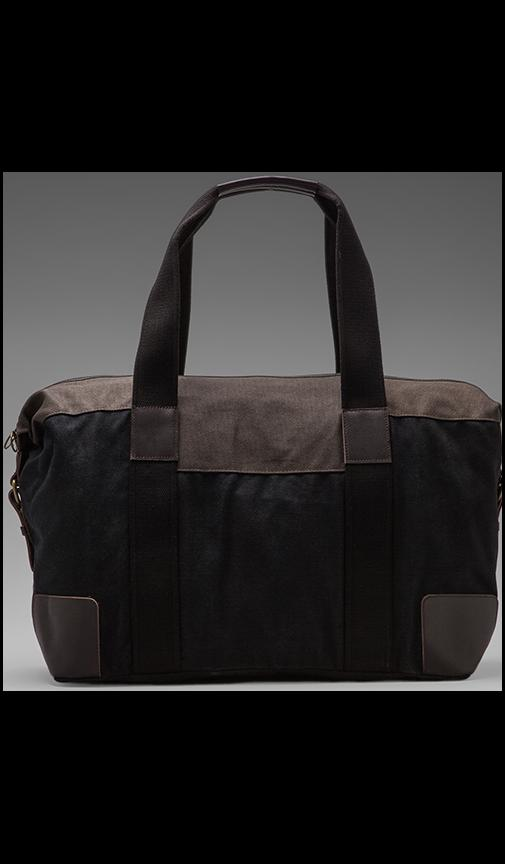 Waxed Canvas Holdall