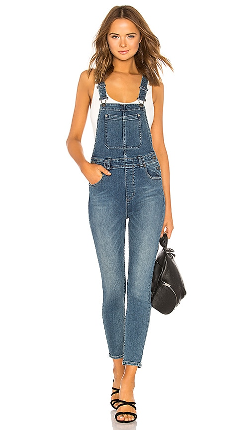 d8f52782e142 Slim Ankle Denim Overall. Slim Ankle Denim Overall. Free People