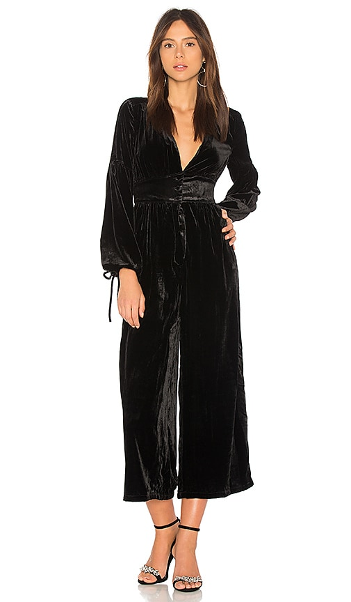 True Lovin Velvet One Piece Jumpsuit in Black. - size S (also in XS) Free People Buy Cheap Extremely Discount Classic EMvlaoPHO