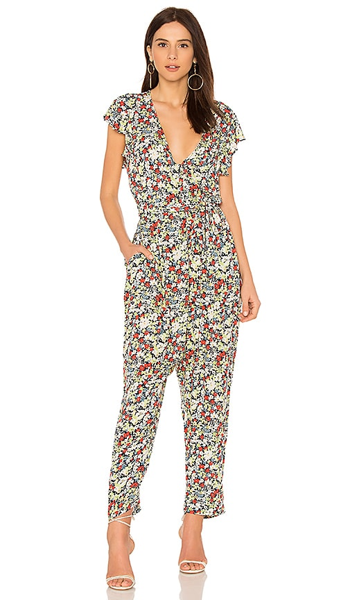 RUFFLE YOUR FEATHERS PRINTED ONE PIECE