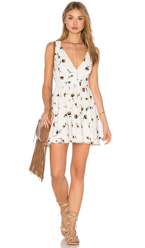 Free People Mini's For You Dress in Ivory