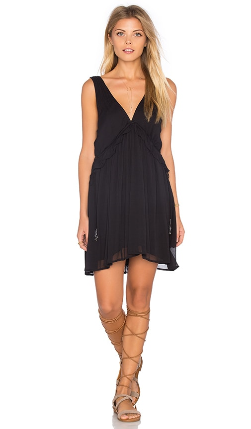 Free People Forget Me Knot Dress in Black