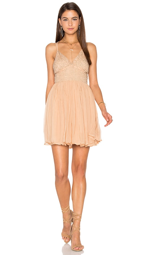 Free People Like a Diamond Dress in Tan