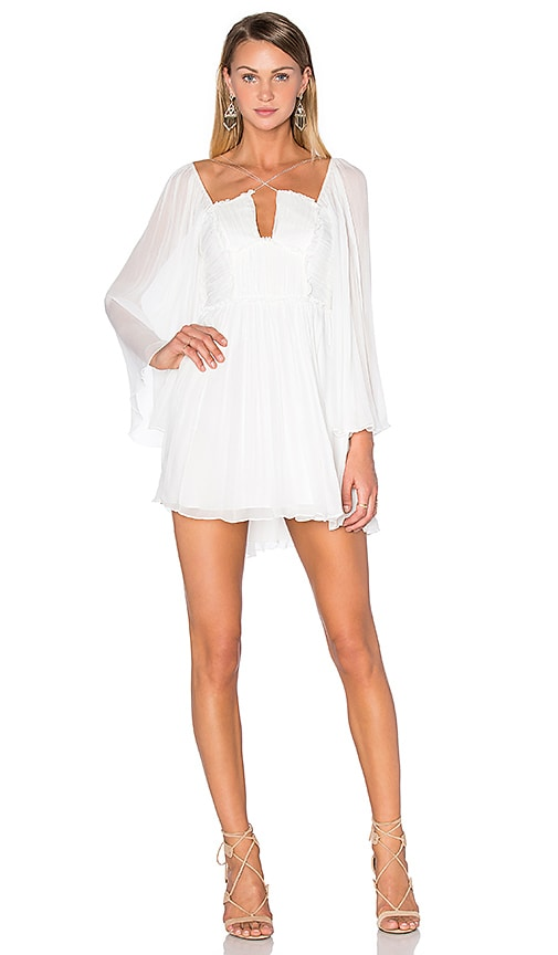 Free People Aquarius Party Dress in White