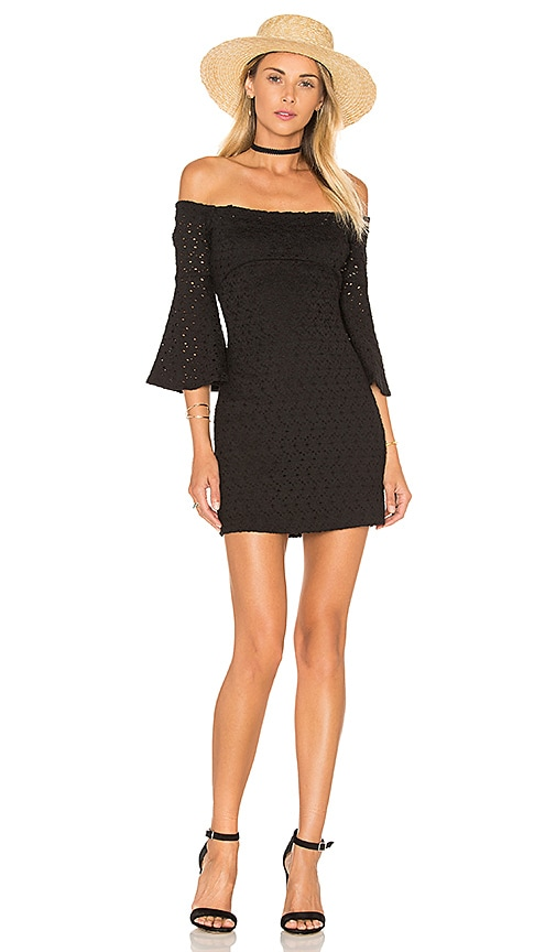 Free People Sophia Dress in Black