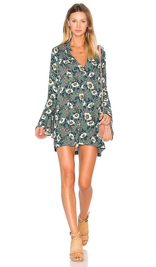 Free People Magic Mystery Tunic in Green