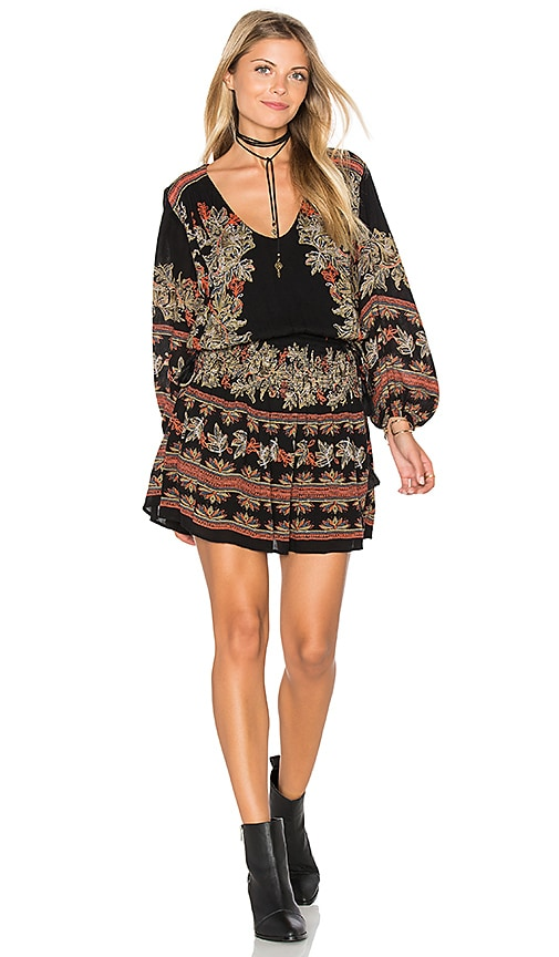 Free People Moonlight Drive Dress in Black