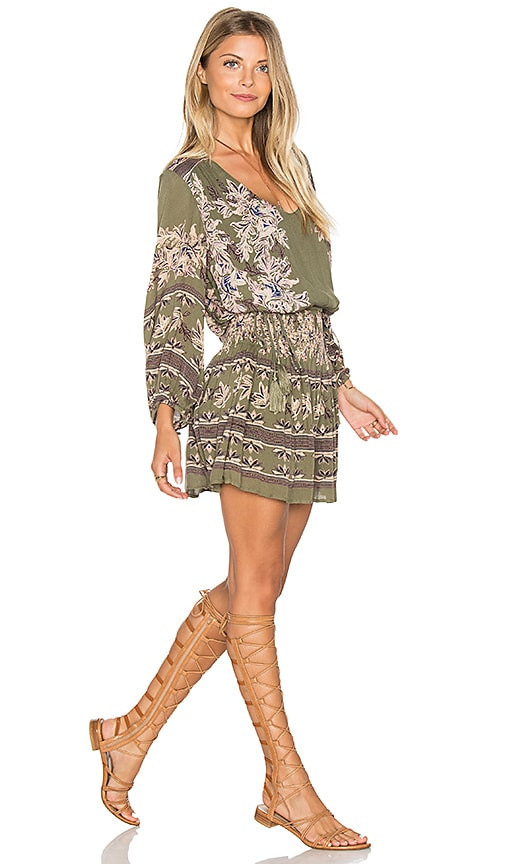 Free People Moonlight Drive Dress in Green