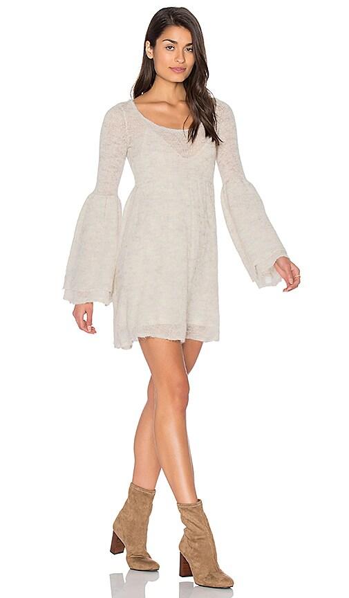 Free People Juliet Babydoll Dress in Ivory