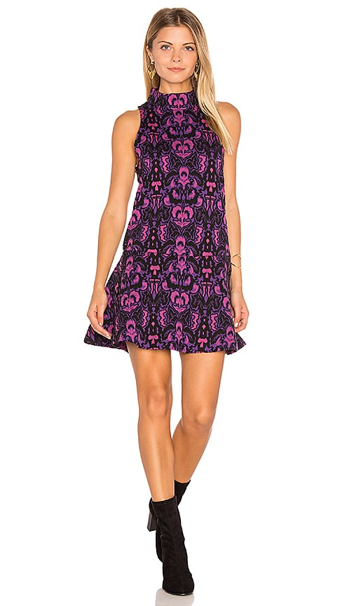 Free People Amelia Knit Dress in Purple