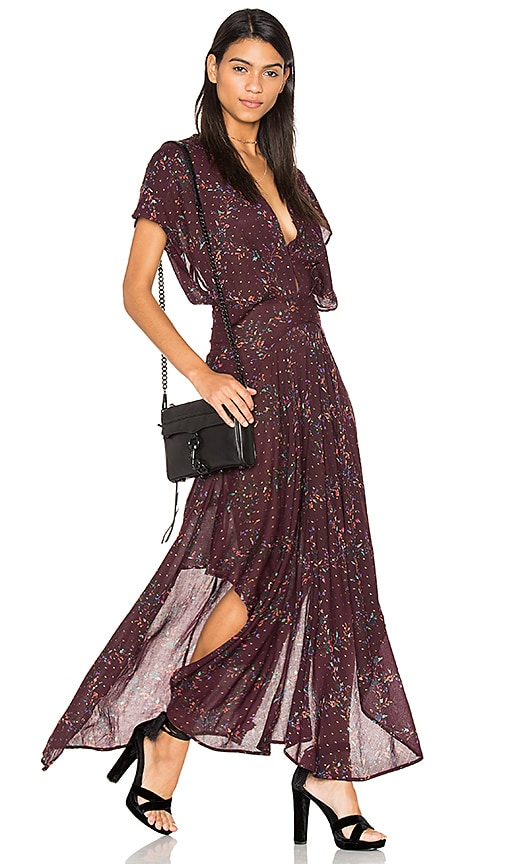 Free People Livia Maxi Dress in Purple