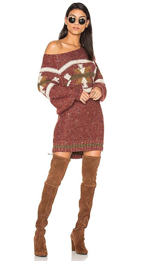 Northern Lights Sweater Mini Dress
