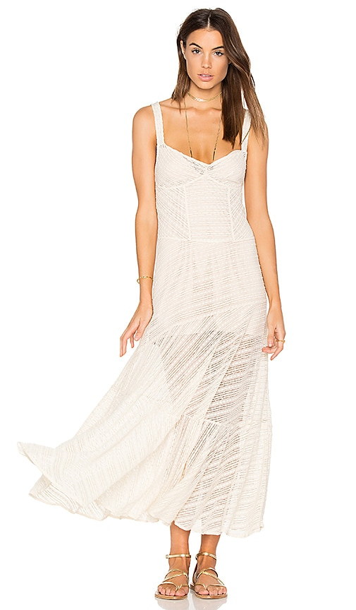 Free People Love Story Slip Dress in White