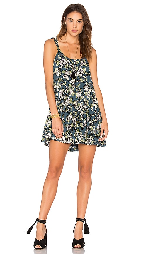 Free People Dear You Mini Dress in Blue