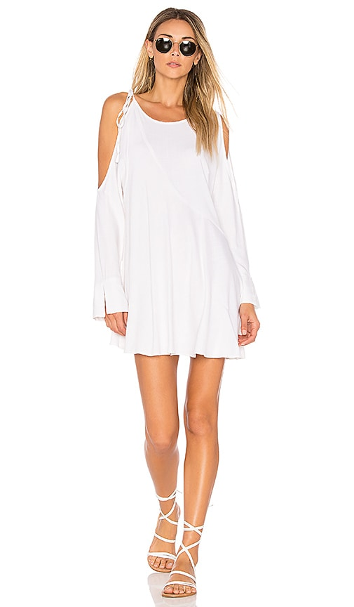 Free People Clear Skies Solid Tunic in White