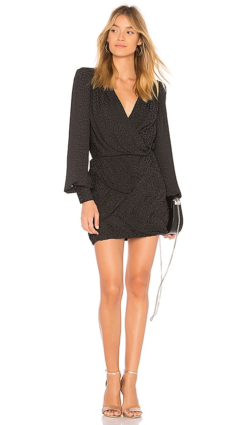 Free People x REVOLVE Let's Dance Dress in Black