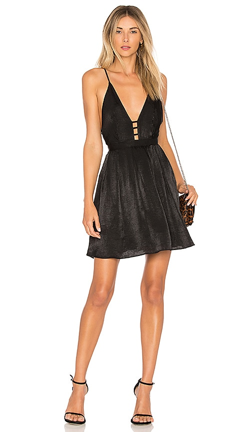 Free People Gabby's Party All Night Dress in Black