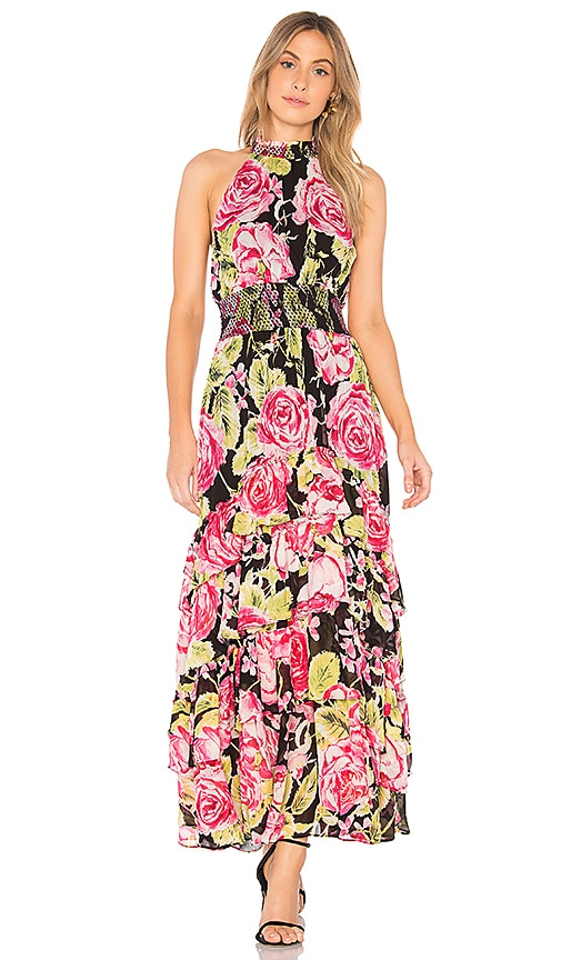 Free People In Full Bloom Maxi Dress in Pink