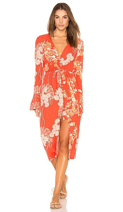41822669321 Mixed Print Twist Dress. Mixed Print Twist Dress. Free People