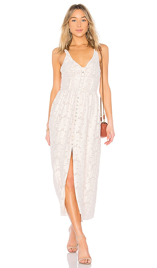 Free People Fresh As A Daisy Maxi Dress in Ivory