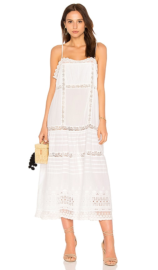 Free People This Is It Slip Dress in White