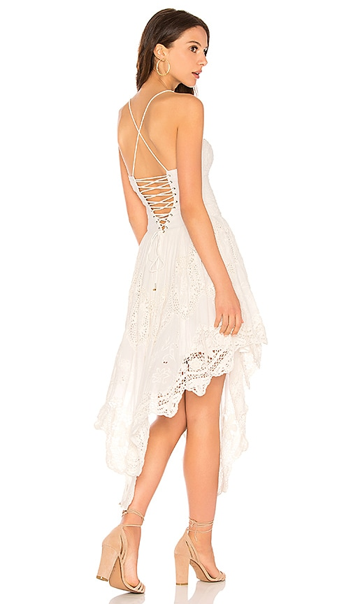 18d80df5e759 Free People Love To Love You Cutwork Dress in White | REVOLVE