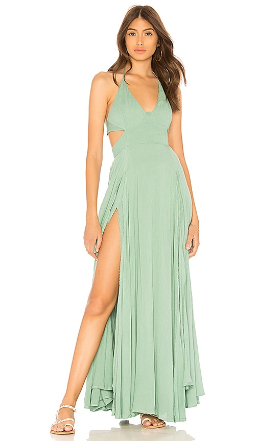 Free People X REVOLVE Lillie Maxi Dress in Turquoise