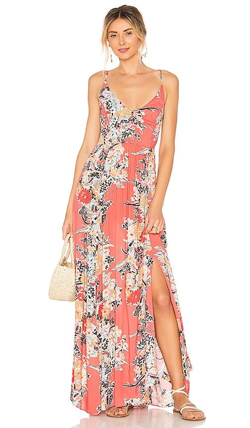 005a5e3f4974 Through The Vine Printed Maxi Dress. Through The Vine Printed Maxi Dress. Free  People