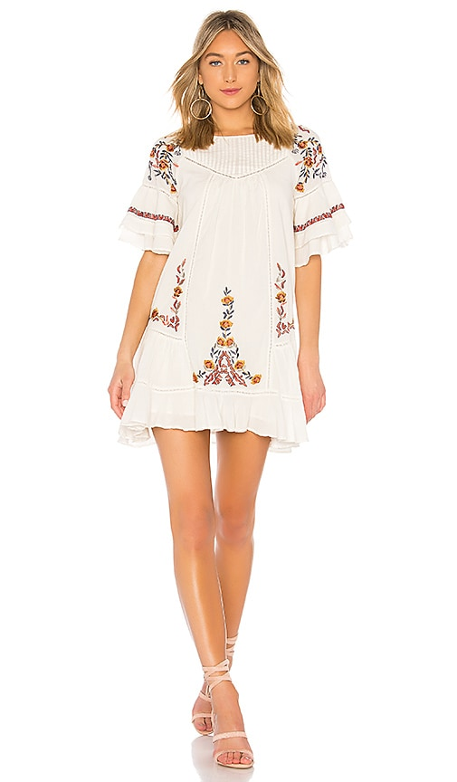 Free People Pavlo Dress in Ivory