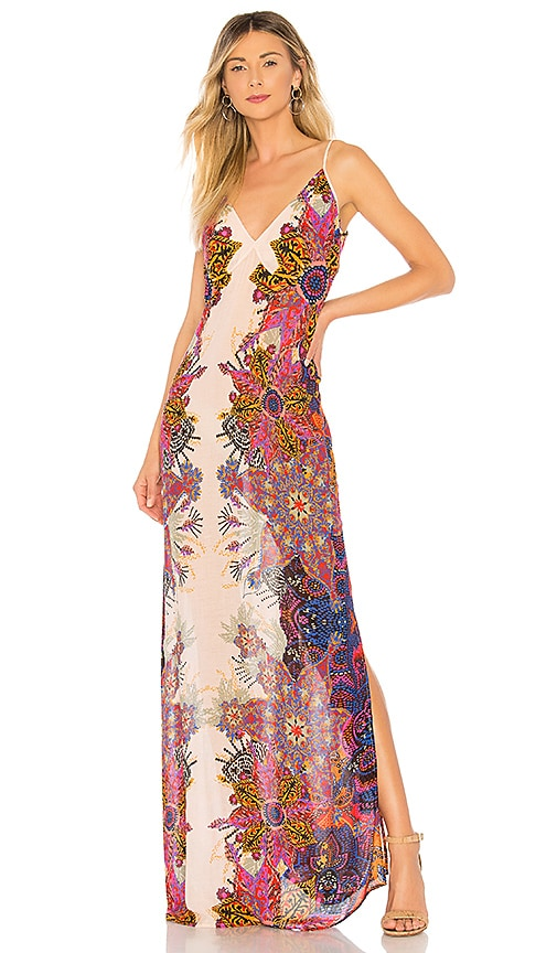 Wildflower Printed Slip Dress