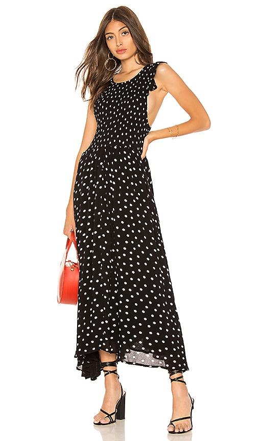 f57b8e792bf0 Chambray Butterflies Dot Midi Dress. Chambray Butterflies Dot Midi Dress. Free  People
