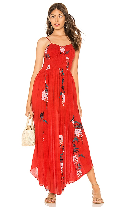 dd29a4ebdf28d Beau Smocked Printed Slip Dress. Beau Smocked Printed Slip Dress. Free  People