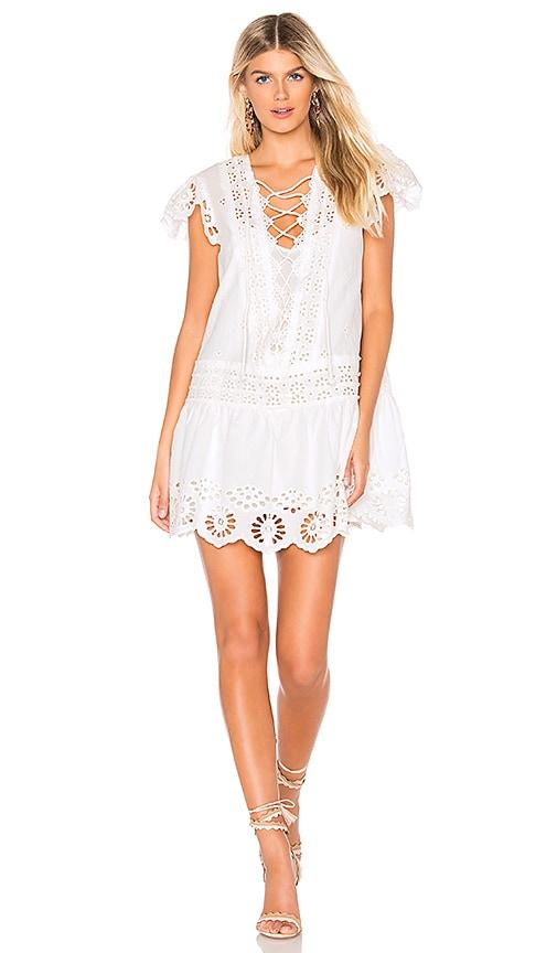 Esperanza Eyelet Mini Dress