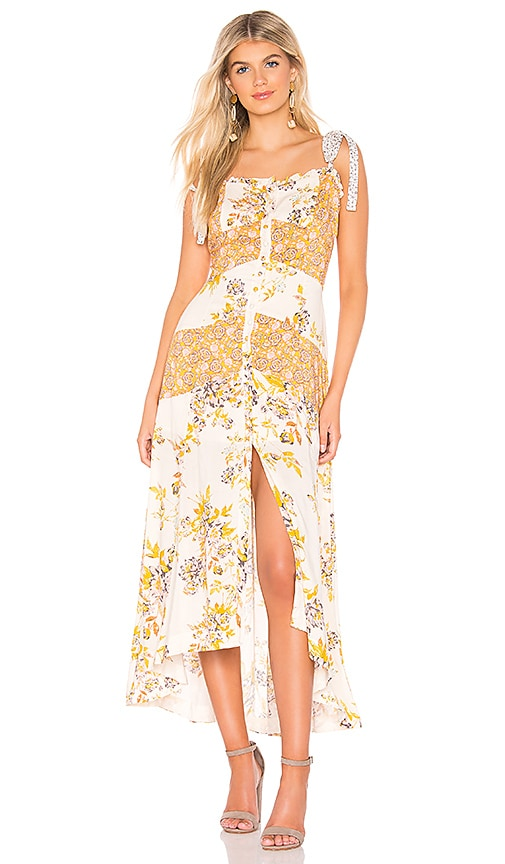 41d80d149ae Free People Lover Boy Maxi in Neutral Combo