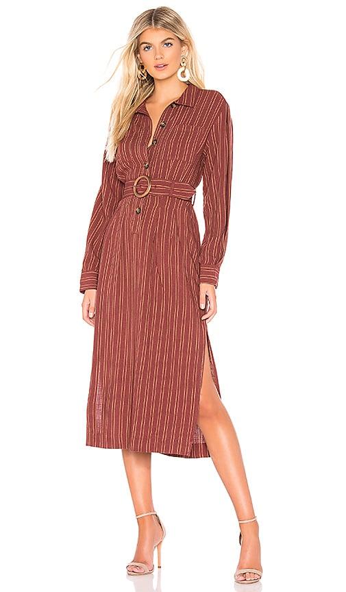 Audrey Midi Stripe Dress