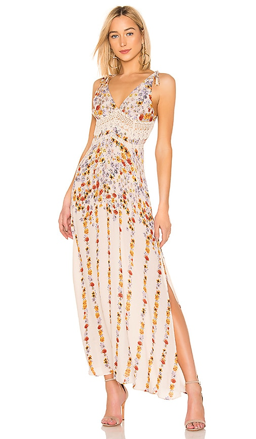 416653c2d6 Free People Claire Maxi Dress in Ivory