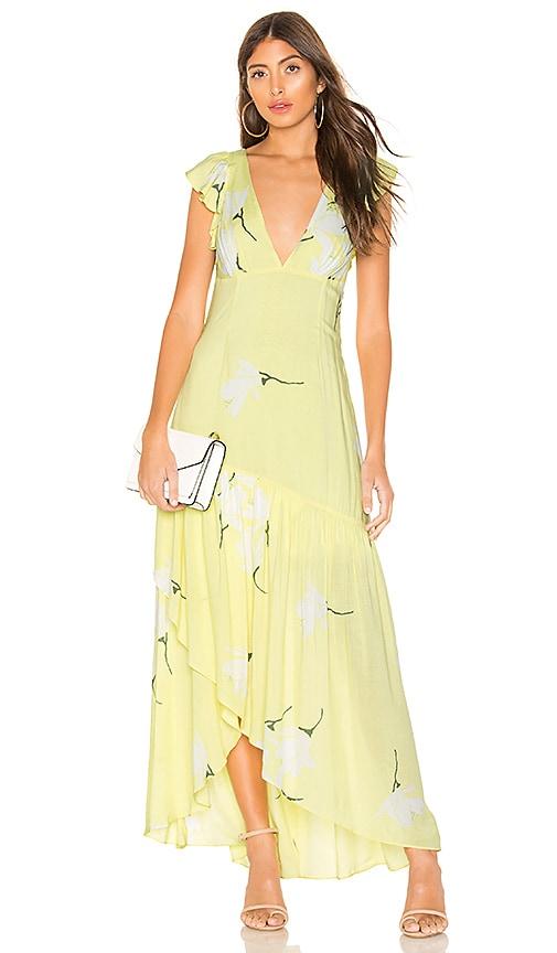 She's A Waterfall Maxi Dress