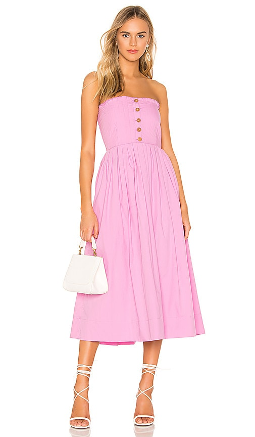 Lilah Pleated Tube Dress