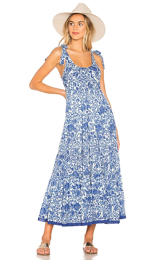 Kikas Printed Midi Dress